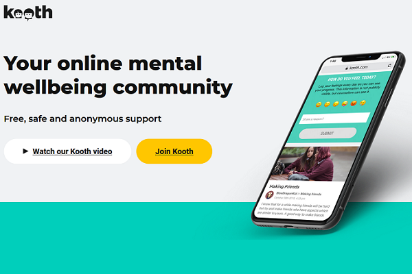 Kooth. Your online mental wellbeing community